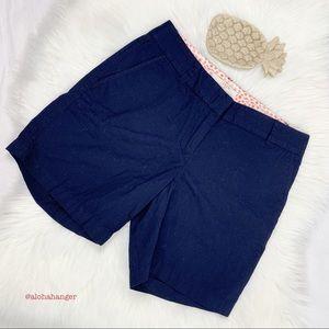 NWT J. Crew Chino Blue Broken-in Shorts!!